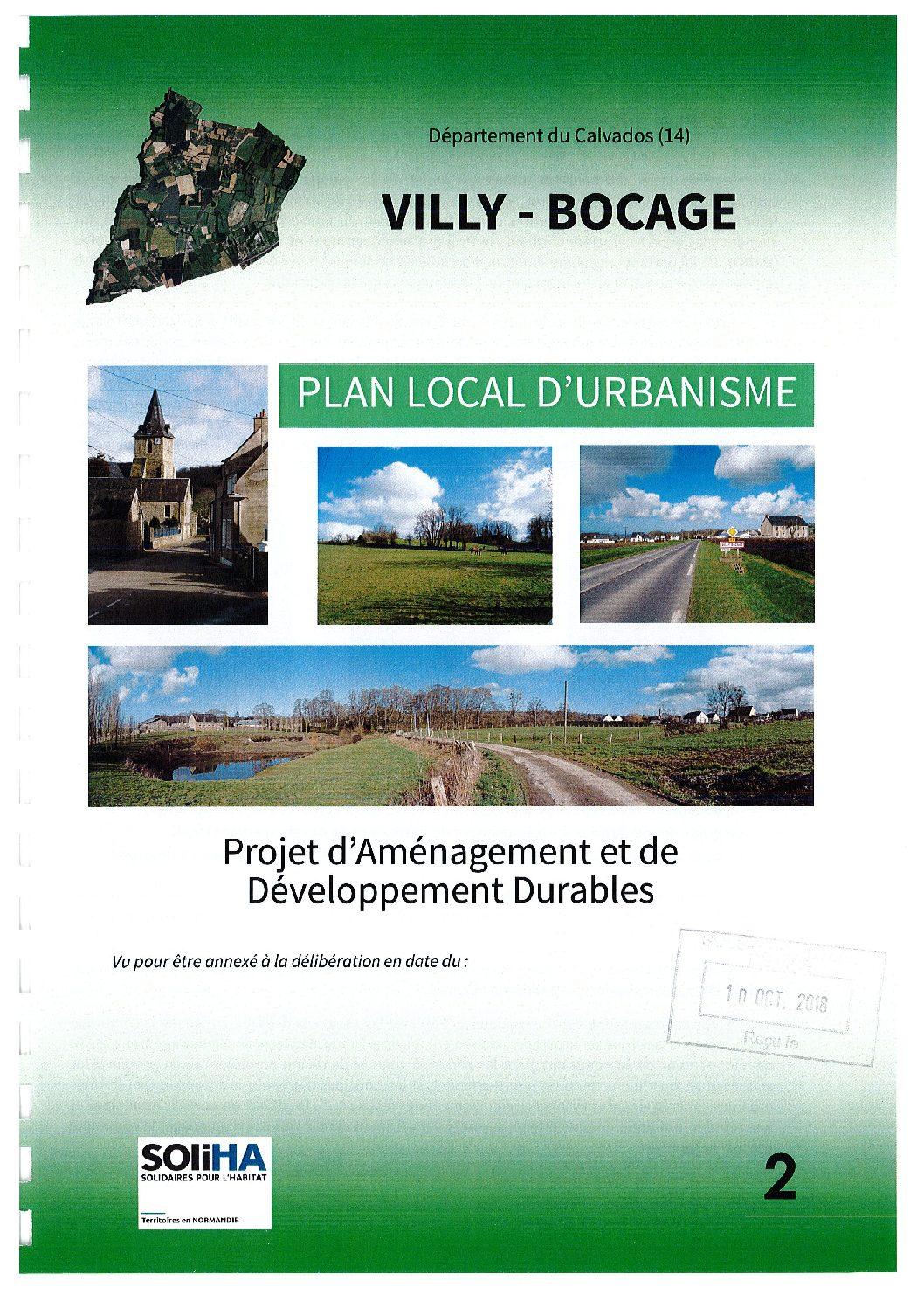 Villy-Bocage : PADD AP2