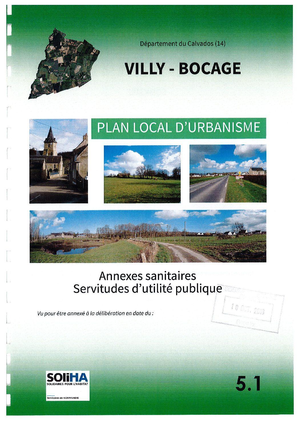 Villy-Bocage : Annexes sanitaires – Servitudes